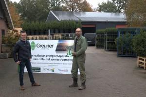 Energiecoöperatie Greuner: Project Kuipers gerealiseerd