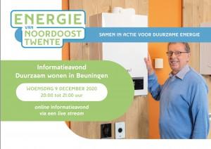 Informatieavond 'Duurzaam wonen in Beuningen'